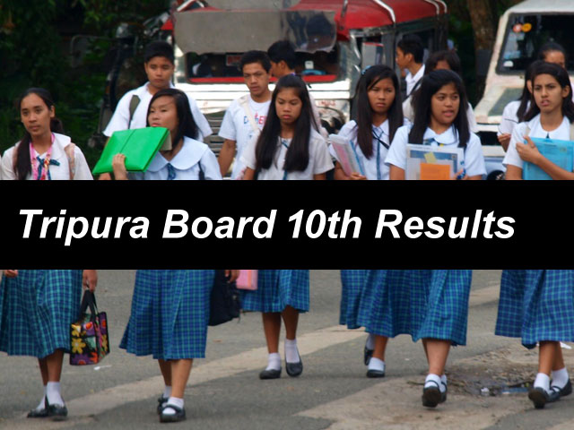 tbse 10th results 2018