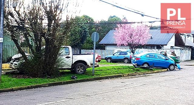 Osorno: accidente de tránsito dejó cuatro lesionados