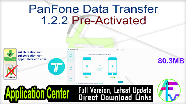 PanFone Data Transfer 1.2.2 Pre-Activated