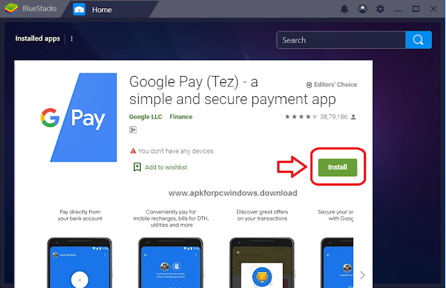 google pay-tez for pc