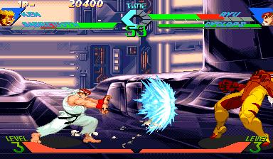 X-men vs. Street Fighter screenshot 2