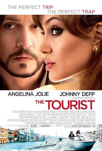 The Tourist 2010 BRRip 480p Dual Audio Hindi 300MB