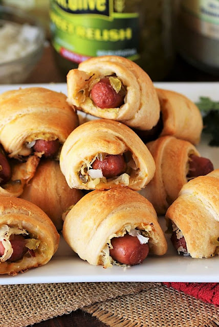 Pigs In a Blanket With the Works Image