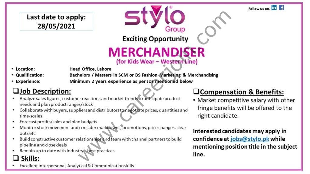 Stylo Pvt Ltd Jobs 2021 in Pakistan