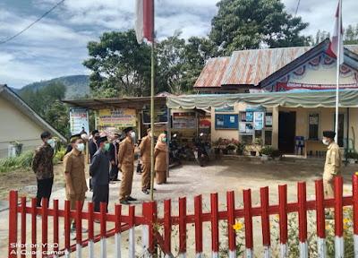 Reje Kampung Gelampang Gading Gelar Upacara Renungan Suci Jelang Puncak Peringatan HUT RI Ke-76