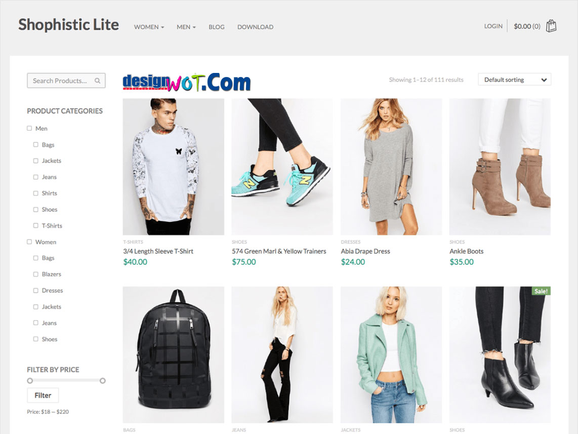 Shophistic Lite Responsive WordPress Theme