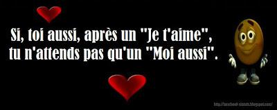 Top Statut Facebook d'Amour