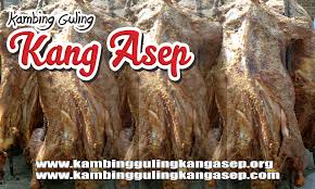 kambing guling kang asep lembang ! murah dan empuk