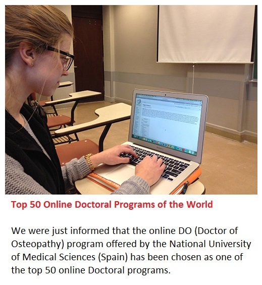 National University of Medical Sciences (USA & Spain): Top