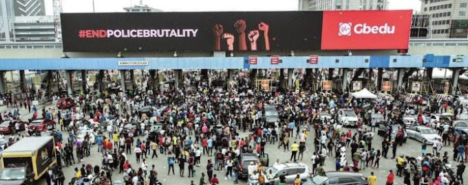 #Occupylekkitollgate: Youth Protesters Storms Lekki Toll Gate Heavly Despite Security