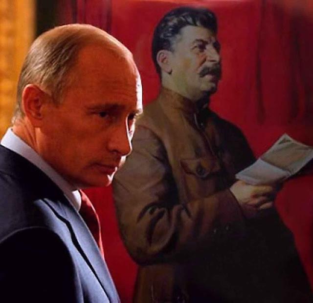 Hiper-nacionalista, saudosista da URSS, admirador de Stalin, acuado pela crise econômica, Putin dispõe de 7.000 bombas atômicas
