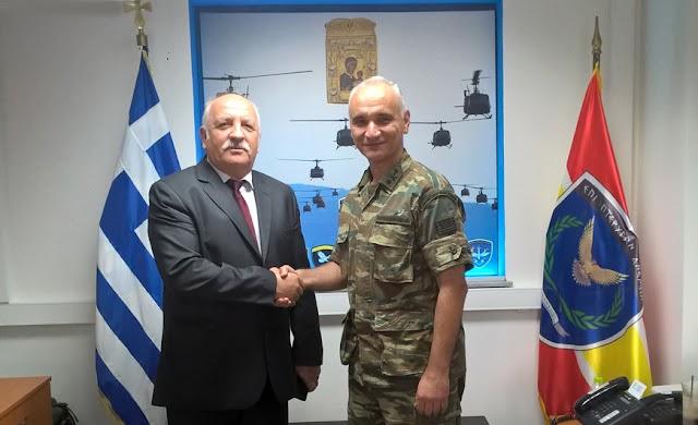 Συνάντηση ΔΣ/ΣΕΑΝ Κιλκίς με νέο Διοικητή 71ης Α/Μ ταξιαρχίας