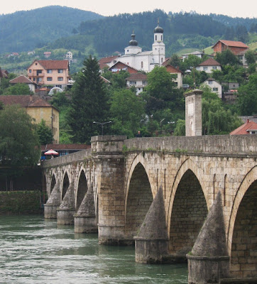 Visegrad, the stone bridge over the Drina, inspiration for Ivo Andrić's novel and Cheryl Frances-Hoad's concerto