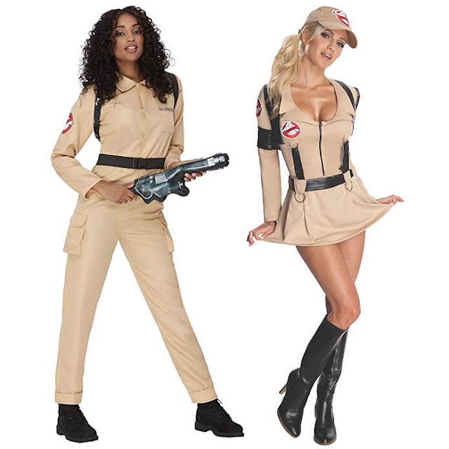 OCT 16 - GHOSTBUSTERS COSTUMES for Women. I take a look at four very different outfits that will ensure you have a spooktacular night out!