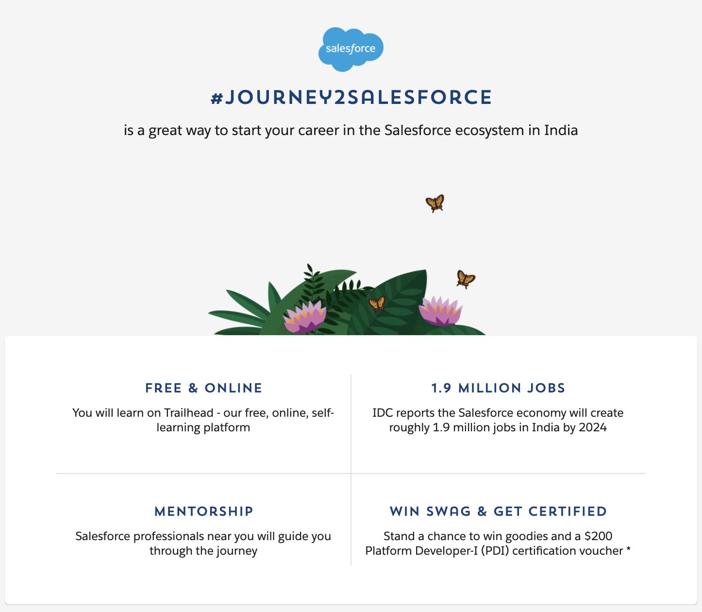 Journey To Salesforce