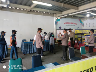 Cek Kesiapan Pengamanan Natal dan Tahun Baru 2021, Kabag Ops Polres Pelabuhan Makassar lakukan Patroli
