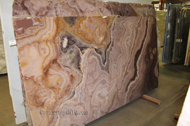 Purple Onyx Slabs NYC