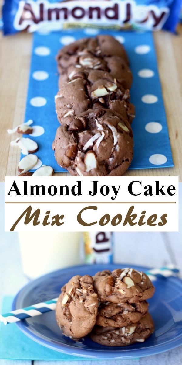 Almond Joy Cake Mix Cookies Recipe! #cookiesrecipes