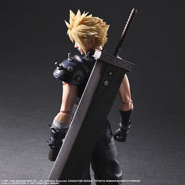 Play Arts Kai Cloud Strife - Final Fantasy VII Remake - (26,8 cm)