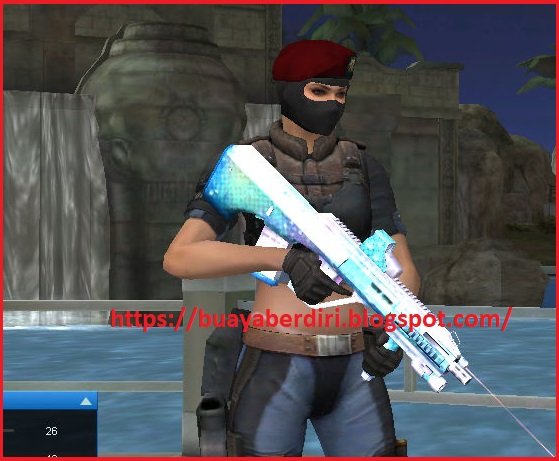 AUG A3 Mermaid Pointblank Zepetto