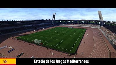 PES 2020 Stadium Estadio de los Juegos Mediterráneos