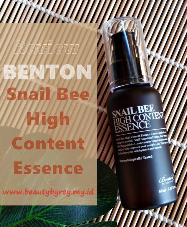 Review Benton Snail Bee High Content Essence