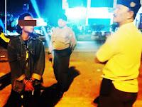 Pesta Miras dan Mabuk Di Taman Musafir Pangkep, Belasan Remaja Dibubarkan Polisi