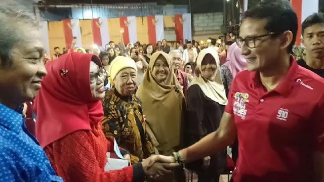 Sandi Klaim Prabowo Sudah Prediksi Rupiah Merosot Sejak 2014