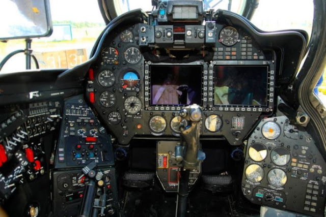 Mil Mi-28UB cockpit