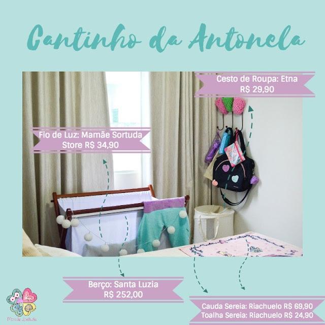 Cantinho da Antonela: ideias econômicas para quarto dos pais adaptado para o bebê!
