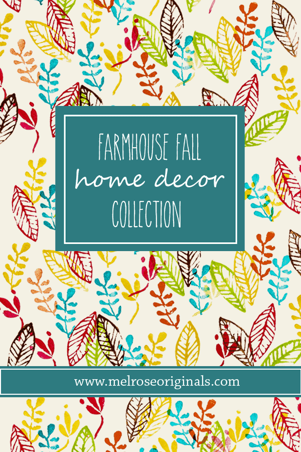Farmhouse FallDecor with a Colorful Twist