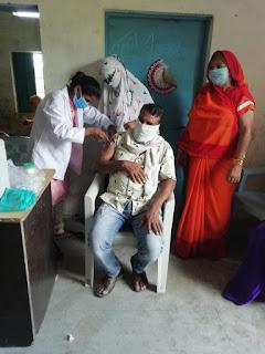 जिले में आज 17935 लोगों ने कराया टीकाकरण, टीकाकरण सेन्टरों पर उत्साह का वातावरण