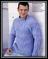 mujskoe vyazanie spicami pulover so shemoi i opisaniem