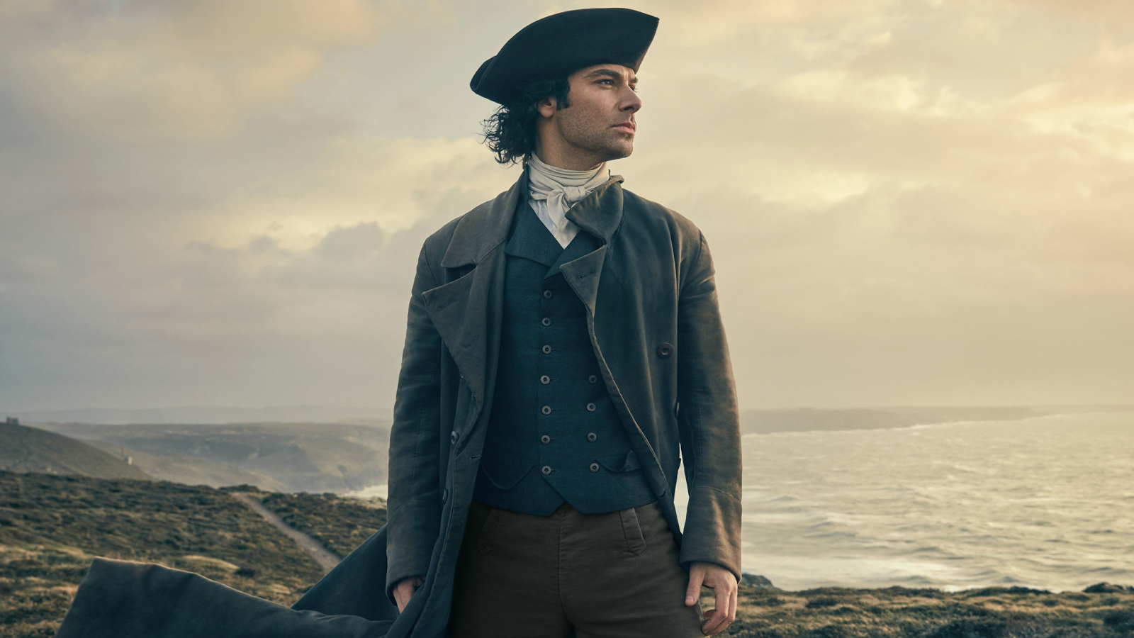 Ross Poldark in promotional art for 'Poldark' Season 2