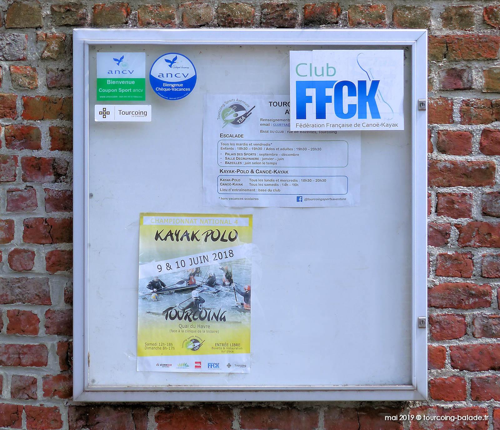 Club FFCK, Tourcoing 2020