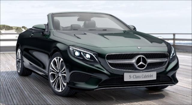Mercedes S500 Cabriolet 2019 sở hữu thiết kế thể thao, sang trọng và quyến rũ