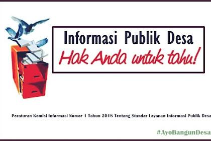 Apa Saja Informasi Publik yang Wajib Disediakan oleh Pemerintah Desa