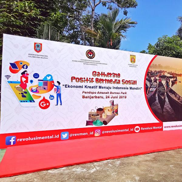 Event Report: Gathering Positif Bermedia Sosial sebagai Gerakan Revolusi Mental Indonesia