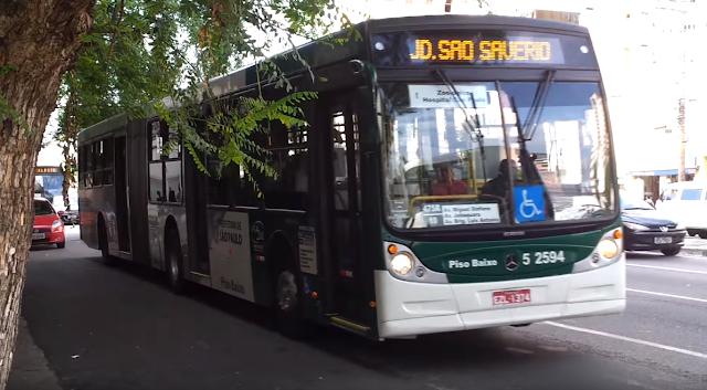 Ônibus da linha 475R/10 Jd.São Savério- Terminal Parque Dom Pedro