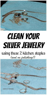 Simple cleaning method for sterling silver