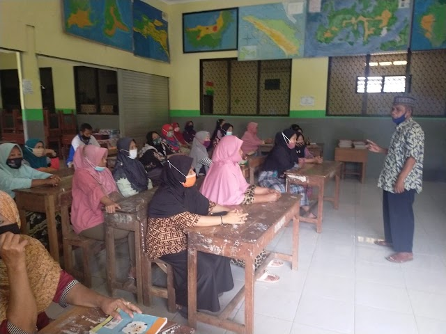 Ciptakan Lingkungan Belajar Yang Aman, Nyaman, Inklusif, Dan Menyenangkan Di Masa Pandemi Covid – 19 Bersama Guru Dan Wali Murid Yang Super