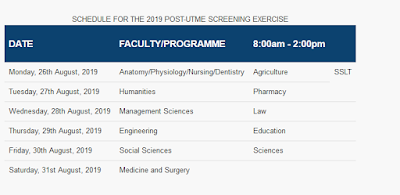 UNIPORT Post-UTME Admission Screening Form 2019/2020 | Apply Now