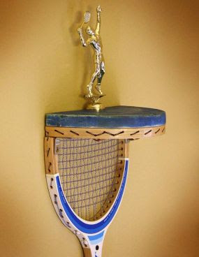 Creative and Functional Reuses of Tennis Rackets (9) 6