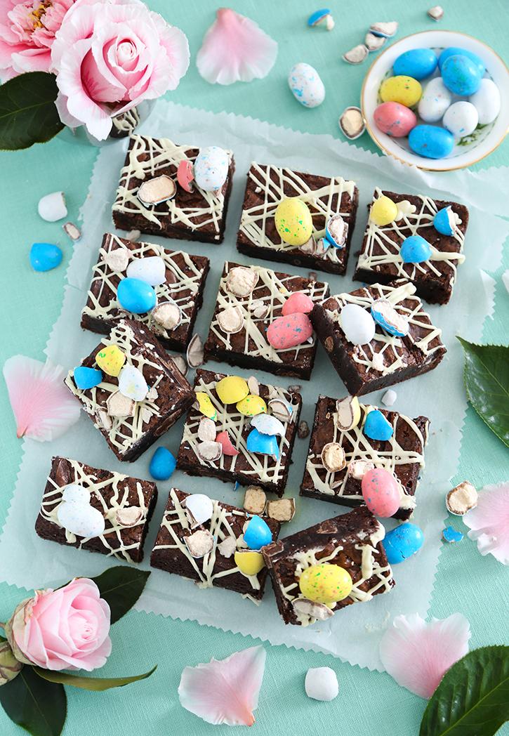 Chocolate Chunk Malted Milk Brownies