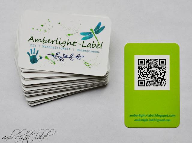 Moo Cards Bloggerkarten Visitenkarten V Amberlight Label