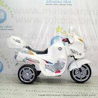 Motor Mainan Aki PMB M01 Police 911 White