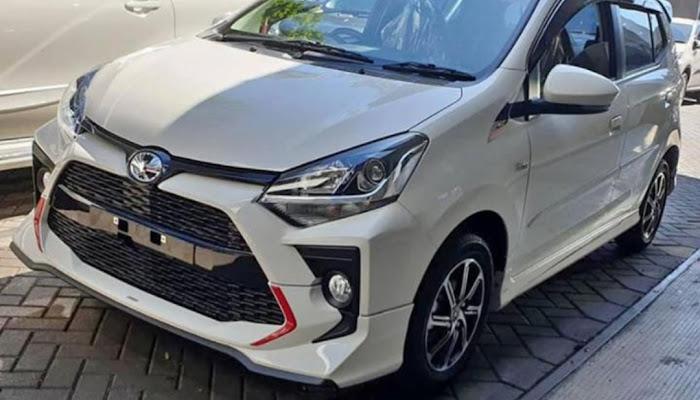 Tampilan New Agya Facelift 2020 dan Estimasi Harganya
