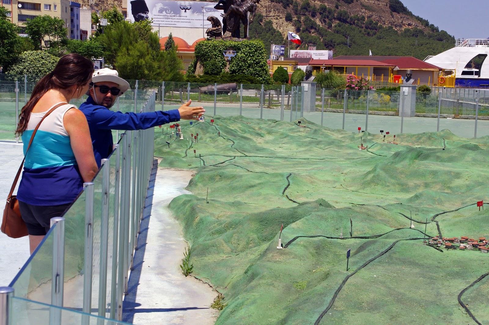 Gallipoli Peninsula Scale model