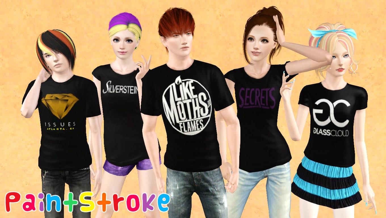 Sims 4 Cc Band Shirts Carrerasconfuturo Com