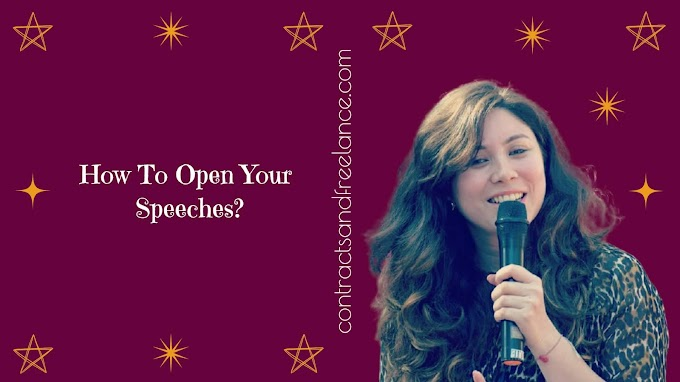 Public Speaking Tips: How to open your Speeches? | Nancy Shah